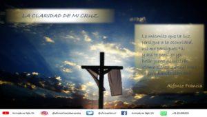 la claridad de mi cruz