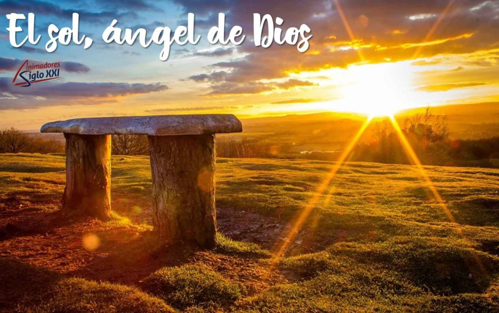 El sol angel de Dios